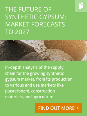 The Future of Synthetic Gypsum: Market Forecasts to 2027