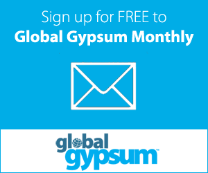 Global Gypsum Monthly Sign up