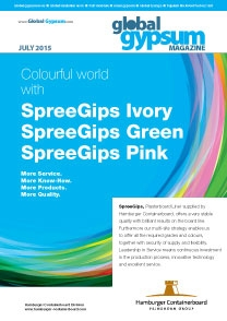 Global Gypsum Magazine - July 2015