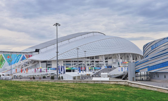 Sochi 2014 Winter Olympic Games stadium