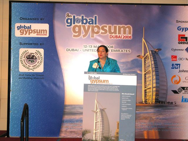 8th Global Gypsum Conference 2008