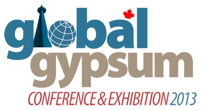 Global Gypsum Conference Logo 2013