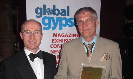Global Gypsum Supplier of the Year was awarded to WTW Americas